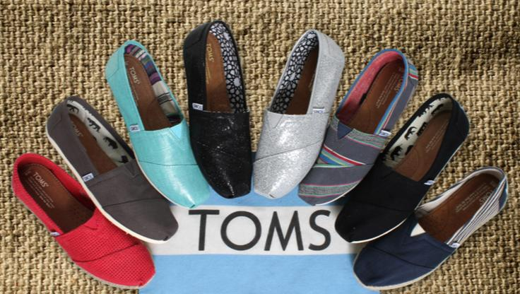 15% Off Full Price Items @ TOMS