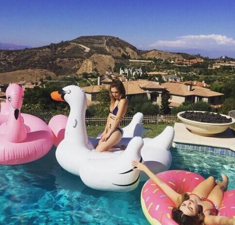 20% OFF POOL FLOAT @ Dollskill