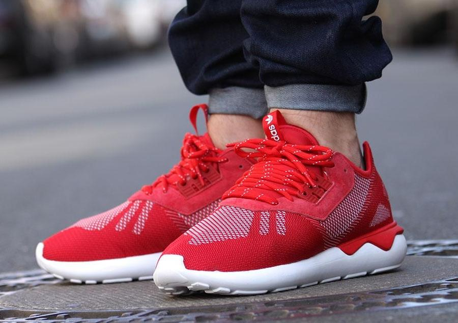 $44.99 ADIDAS TUBULAR WEAVE SNEAKER On Sale @ Jimmy Jazz