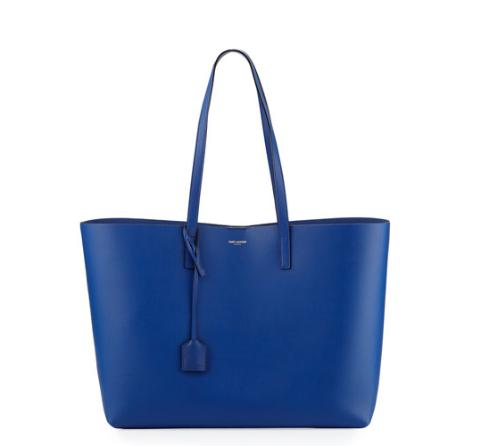 $1021 + $300 GC Saint Laurent Large Shopping Tote Bag w/ Painted Edges @ Neiman Marcus