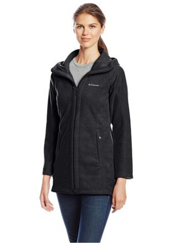 Columbia Women's Benton Springs II Long Hooded Jacket