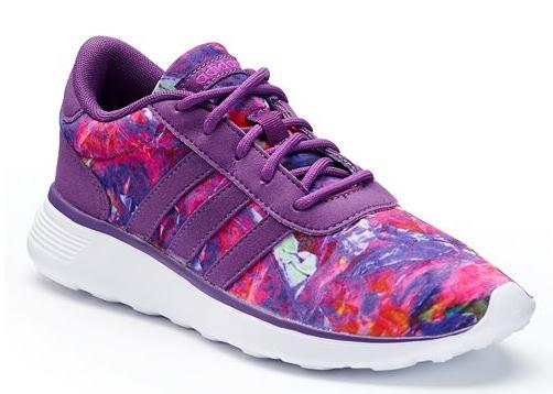 adidas Lite Racer Women's Floral Sneakers