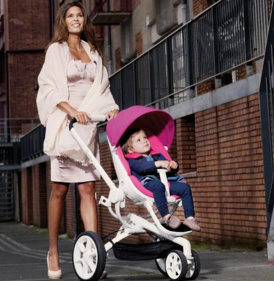 Quinny Moodd Stroller, Pink Passion @ Amazon