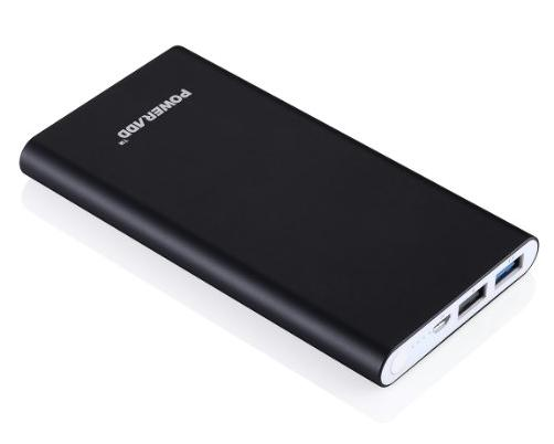 Poweradd Pilot 2GS 10,000mAh Portable Power Bank External Battery Charger with Smart Charge for iPhones, iPads, Samsung Galaxy, More Phones and Tablets