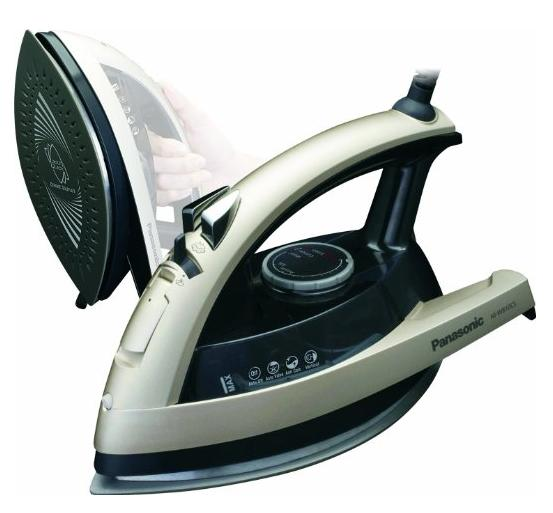$33.77 Panasonic NI-W810CS Multi-Directional Steam/Dry Iron with Ceramic Soleplate