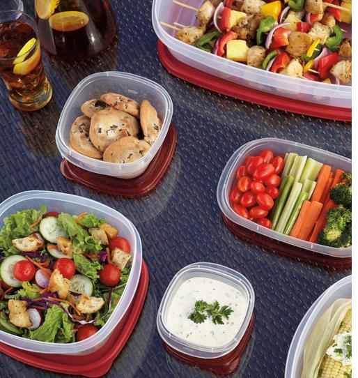 Rubbermaid Easy Find Lid Food Storage Container, BPA-Free Plastic, 18-Piece Set