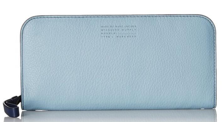 Marc by Marc Jacobs Tricolor Lux Slim Ziparound Wallet @ Amazon