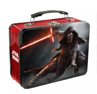Star Wars: Kylo Ren Tin Lunchbox or Droids/Stormtropper Tote Bags