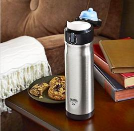 $17.44 Thermos 16 Ounce Stainless Steel Commuter Bottle, Stainless Steel