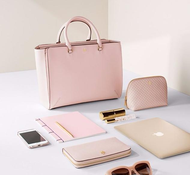 Up to 30% Off Pink Handbags Sale @ Tory Burch