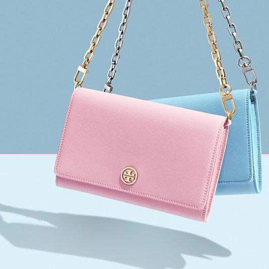 Up to 30% Off Pink Wallets @ Tory Burch