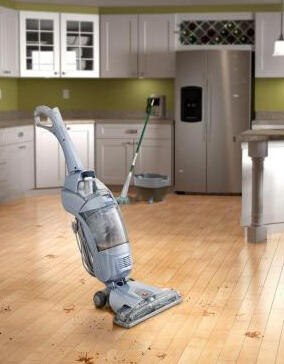 Hoover FloorMate SpinScrub Hard Floor Cleaner with Bonus Hard Floor Wipes FH40010B