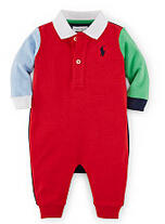 Up to 40% Off + Extra 15% Off Baby Girl & Baby Boy Clothing Sale @ Ralph Lauren