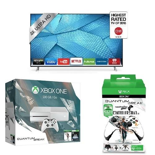 "VIZIO M43-C1 43"" 4K UHD Smart TV + Xbox One 500GB Quantum Break Bundle"