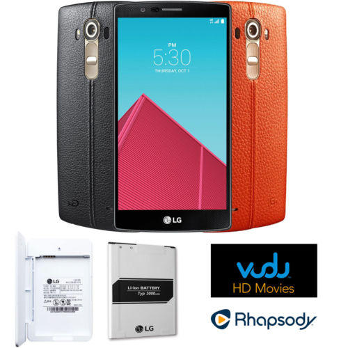 LG US991 G4 32GB Unlocked Smartphone Dual Leather Bundle