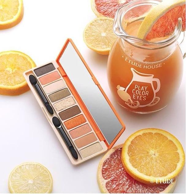 30% Off + Extra 30% Off Etude House Play Color Eyes In the Cafe & Juice Bar @ Etude House
