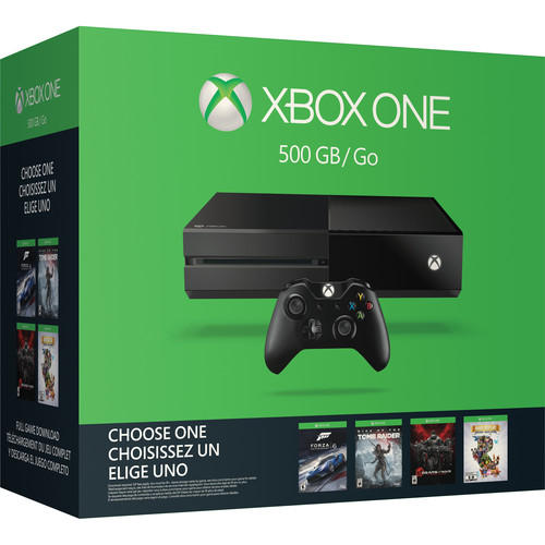 Xbox One 500GB Name Your Game Bundle + Extra wireless controller