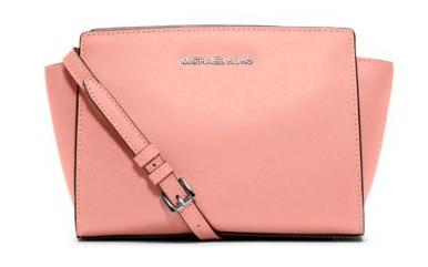 MICHAEL Michael Kors Selma Medium Saffiano Leather Messenger