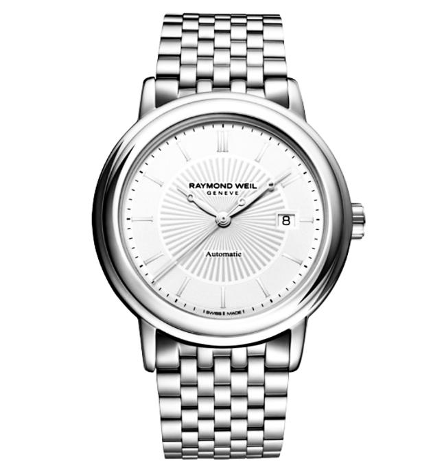 $499 Raymond Weil Men's Maestro Automatic Date Watch