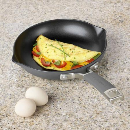 """$17.99 Cooking with Calphalon Easy System Nonstick 8"""" Omelette Pan"""