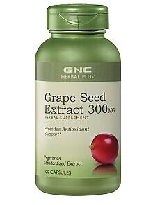 Only $7.99 Grape Seed 300MG @ GNC