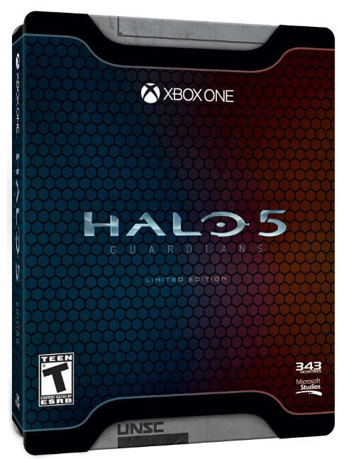 $26 Halo 5: Guardians Limited Edition Xbox One