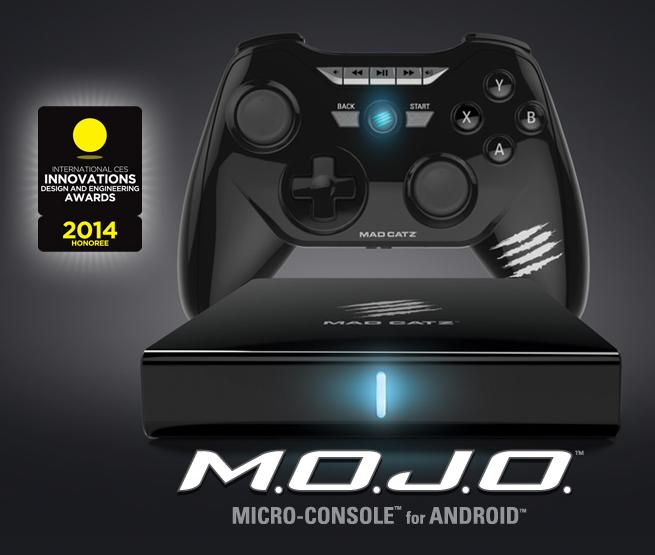Mad Catz M.O.J.O. Micro-Console for Android 16GB