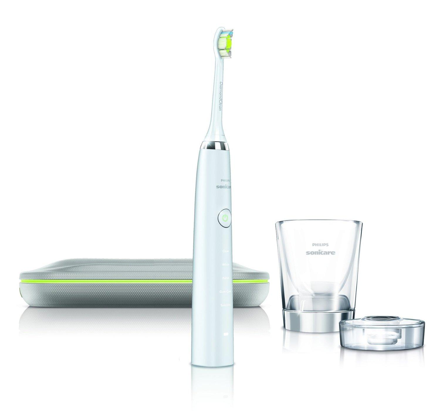 $127.81(reg. $219.99) Philips Sonicare DiamondClean Rechargeable Electric Toothbrush