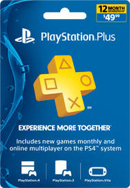 $39.99 PlayStation Plus Membership - 1 Year