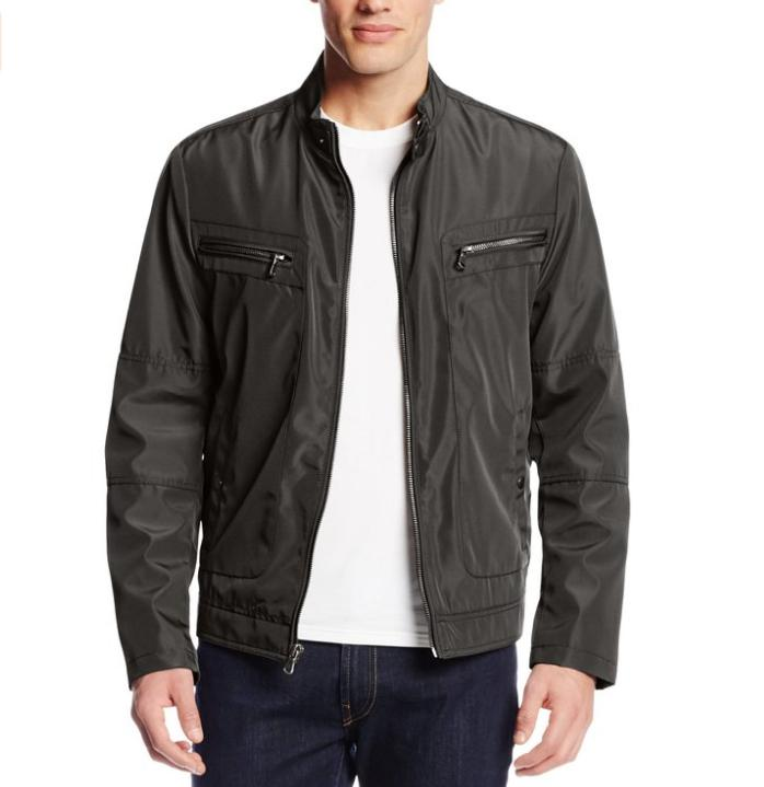 $36.39 Kenneth Cole REACTION Men's Bonded Moto Jacket