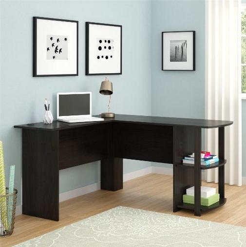 Altra Dakota L-Shaped Desk with Bookshelves