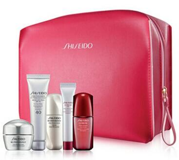 Free 6-Pc. Bonus with Purchase of 2 or more Shiseido Skincare items @ macys.com