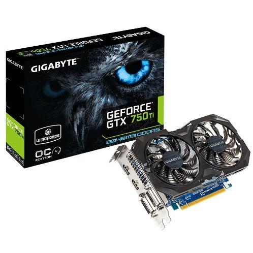 $84.99 after rebate Gigabyte GV-N75TOC2-2GI GTX 750 Ti GDDR5-2GB 2xHDMI OC Graphics Cards GV-N75TOC2-2GI