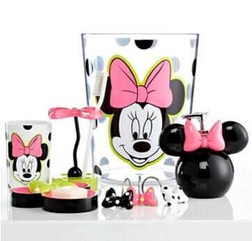 Extra 25% Off Disney Bath Accessories, Neon Minnie Collection  @ macys.com