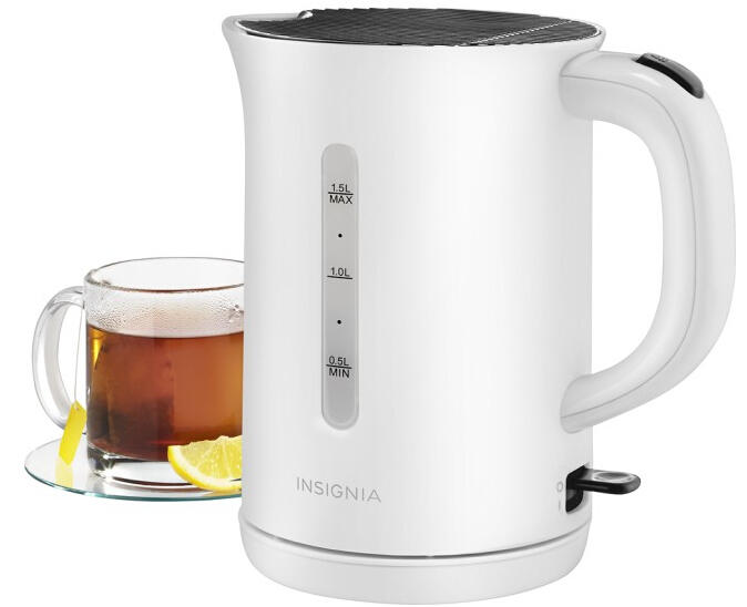 Insignia™ 1.5L Electric Tea Kettle - Black