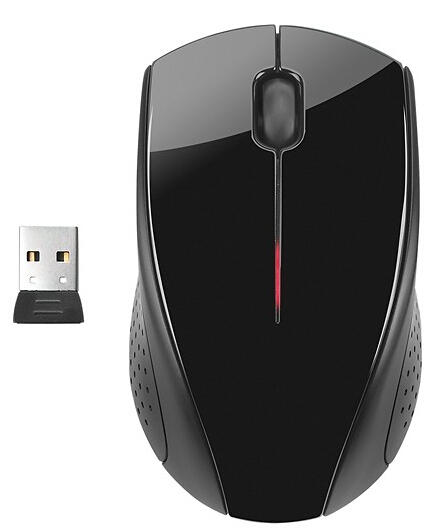 HP x3000 Wireless Optical Mouse - Black