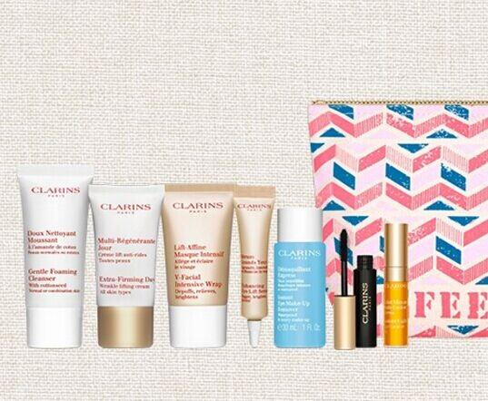 Free 8pc gift with any Order over $75 @ Clarins