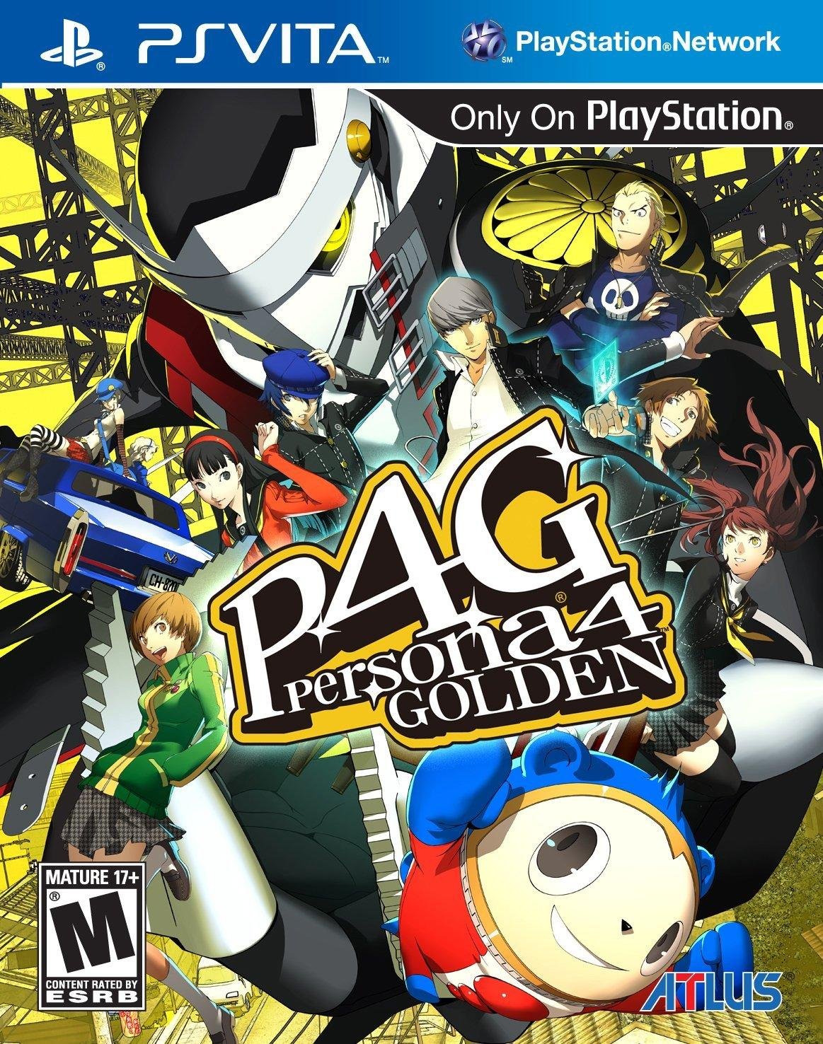 Persona 4 Golden - PS Vita [Digital Code]
