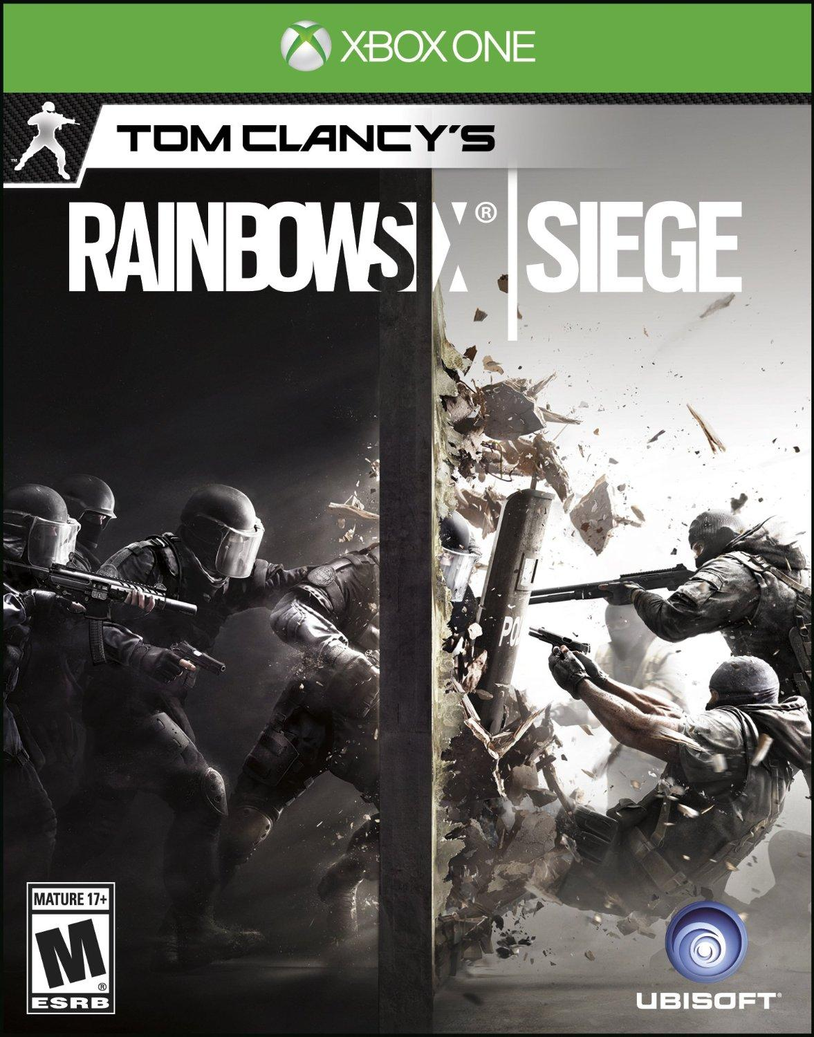 $29.99(原价$59.99)史低价! Tom Clancy's Rainbow Six Siege 彩虹六号:围攻 - Xbox One