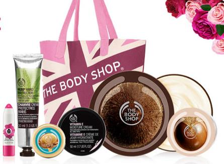 $30 ($89 Value) Mother's Day Tote Filled with $35 purchase @ The Body Shop