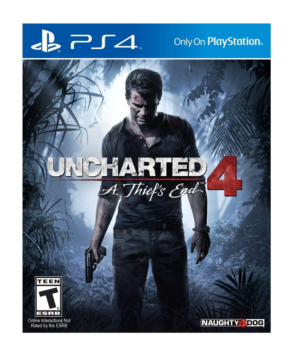 Uncharted 4: A Thief's End - PlayStation 4(Used)