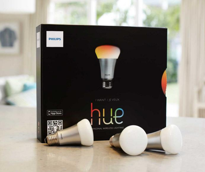 $123.90 Philips 431643 Hue Personal Wireless Lighting, Starter Pack
