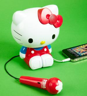 $9.97 Hello Kitty Sing-a-Long Karaoke - Red (21009) @ Amazon