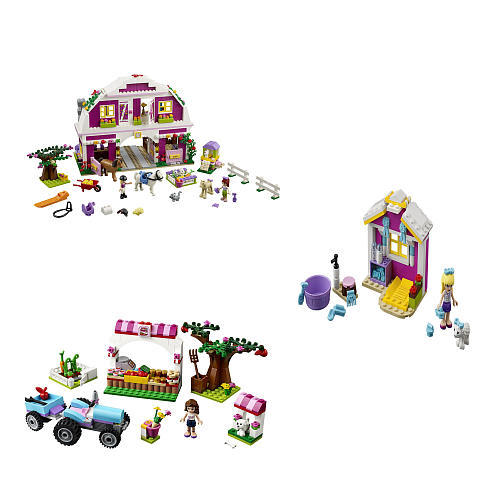 $64 LEGO Friends Co Pack (41026, 41029, 41039)
