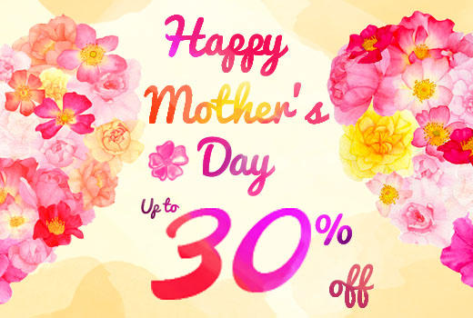 Dealmoon Only! Selection Gift for Mother's Day by iBenzer