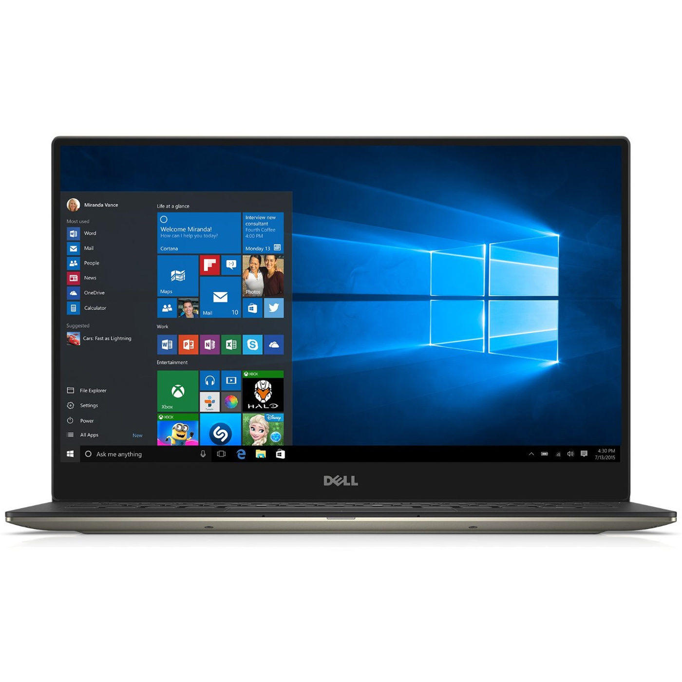 $1249.99 Dell XPS 13 9350 Intel Dual-Core i7-6560U 256GB SSD