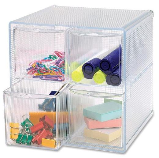 Sparco Removeable Storage 4 Drawer Organizer 6