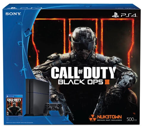 $319.99 PlayStation 4 500GB Console with Call of Duty: Black Ops III