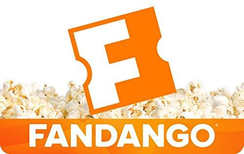 $40 $50 Fandango Email Gift Cards @ Amazon