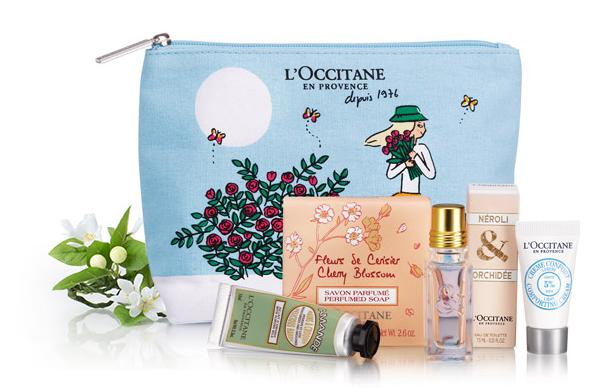 Free 5-Piece Mother's Day gift with $55 Purchase @L'Occitane